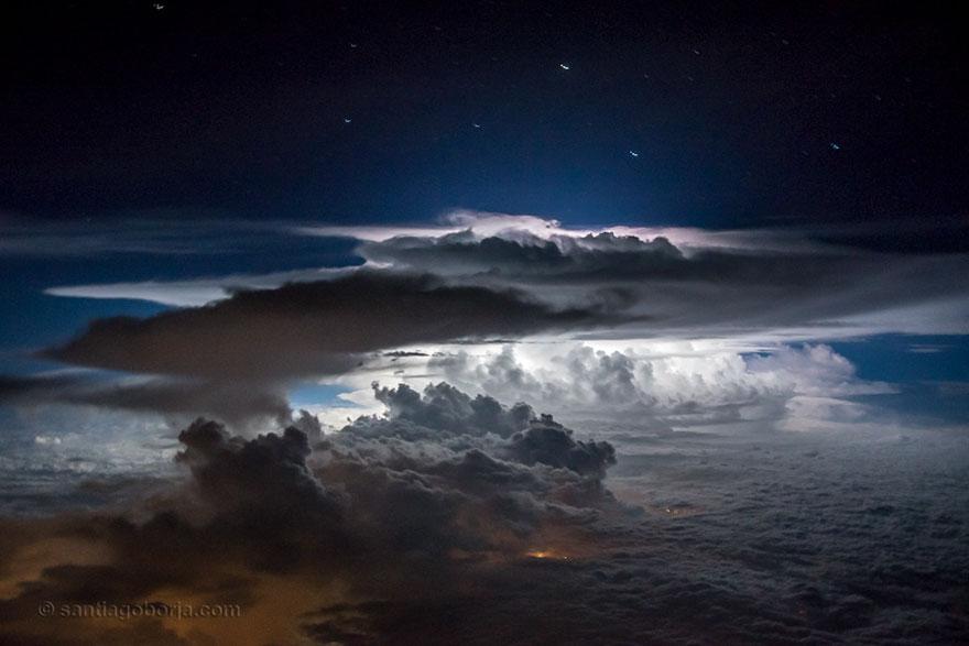 шторм из кабины пилота