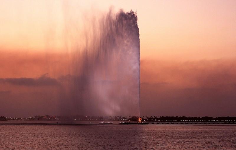 фонтан фахда саудовская аравия