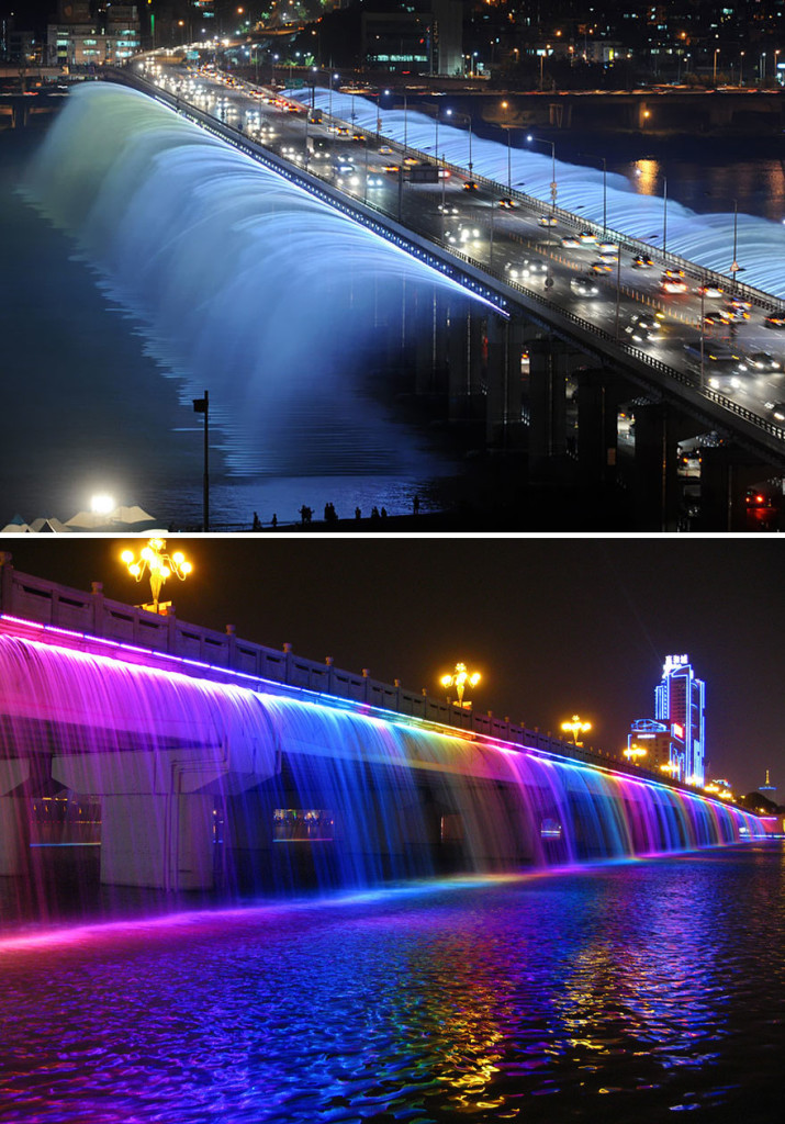 фонтан в южной корее
