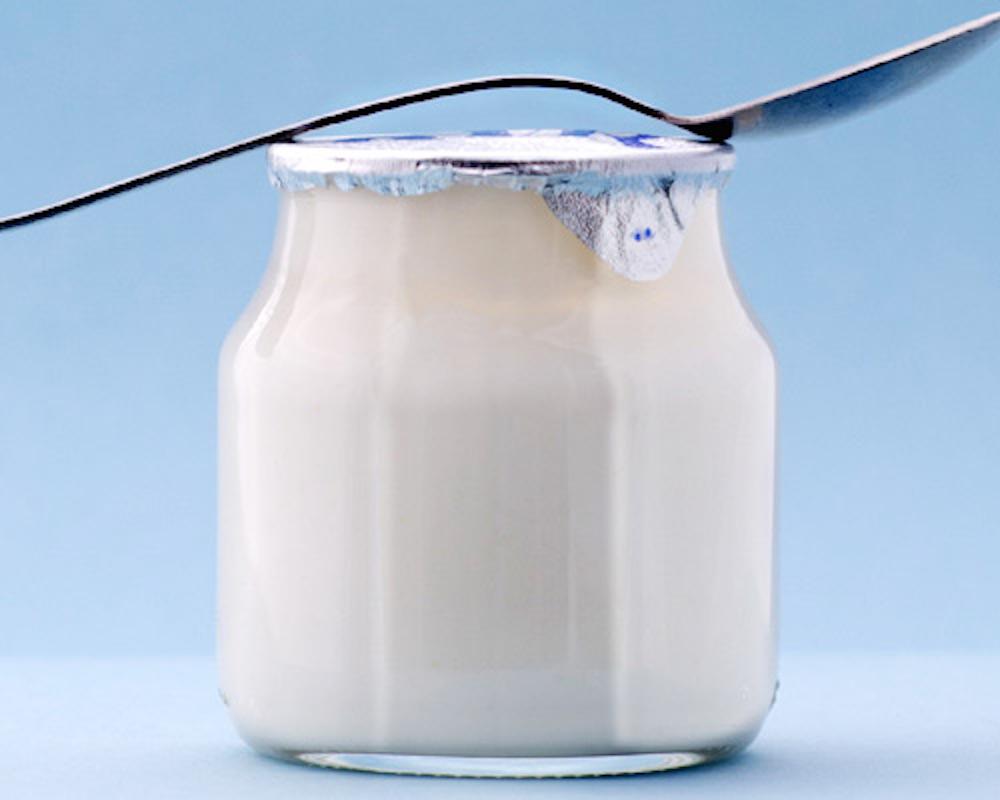 обезжиренная молочка