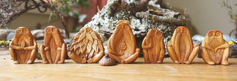 скульптуры из авокадо