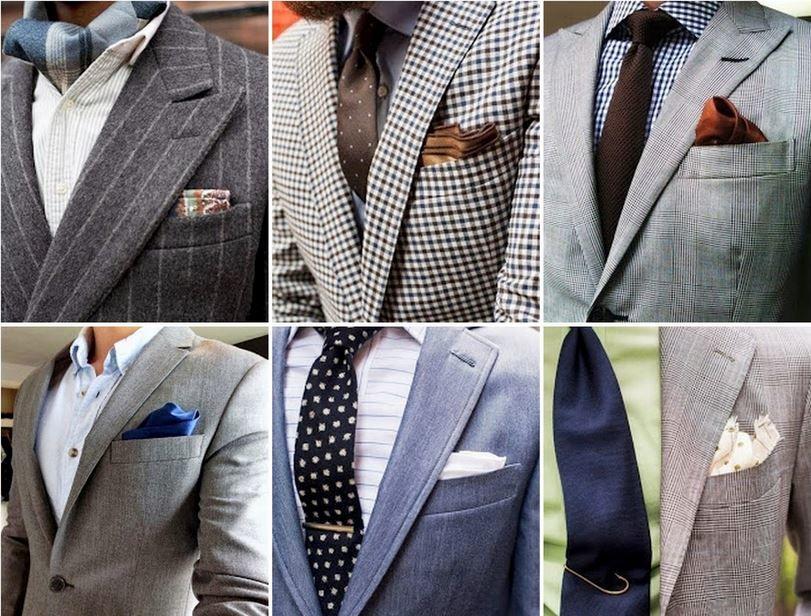 мужской платок