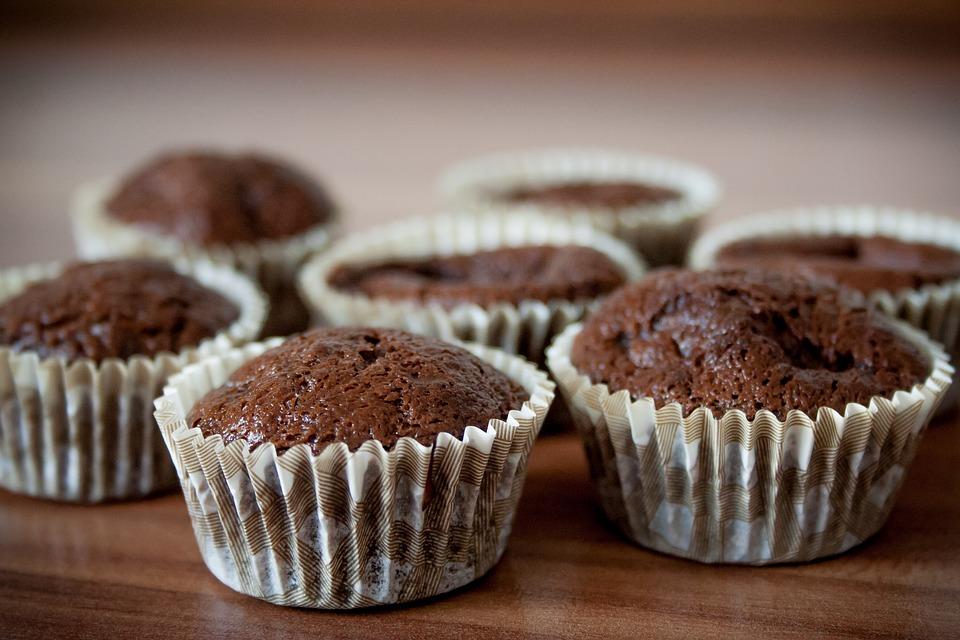 шоколадные кексы из рисовой муки