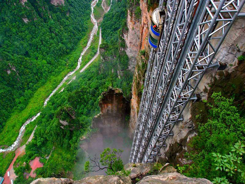 лифт парка в китае