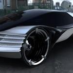 Автомобиль с атомным двигателем