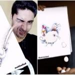 Юморные рисунки-комбинации от художника Мокхаллад Хабиб