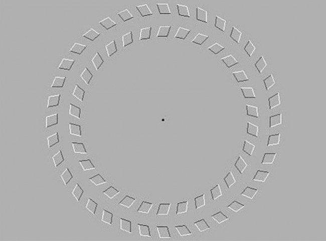 иллюзия круг