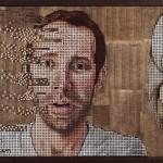 Креативное мастерство: портреты из шурупов