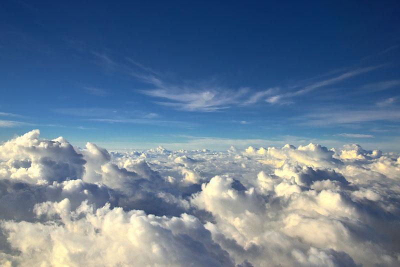 на море облаков
