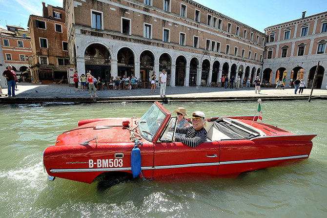 автомобиль в Венеции