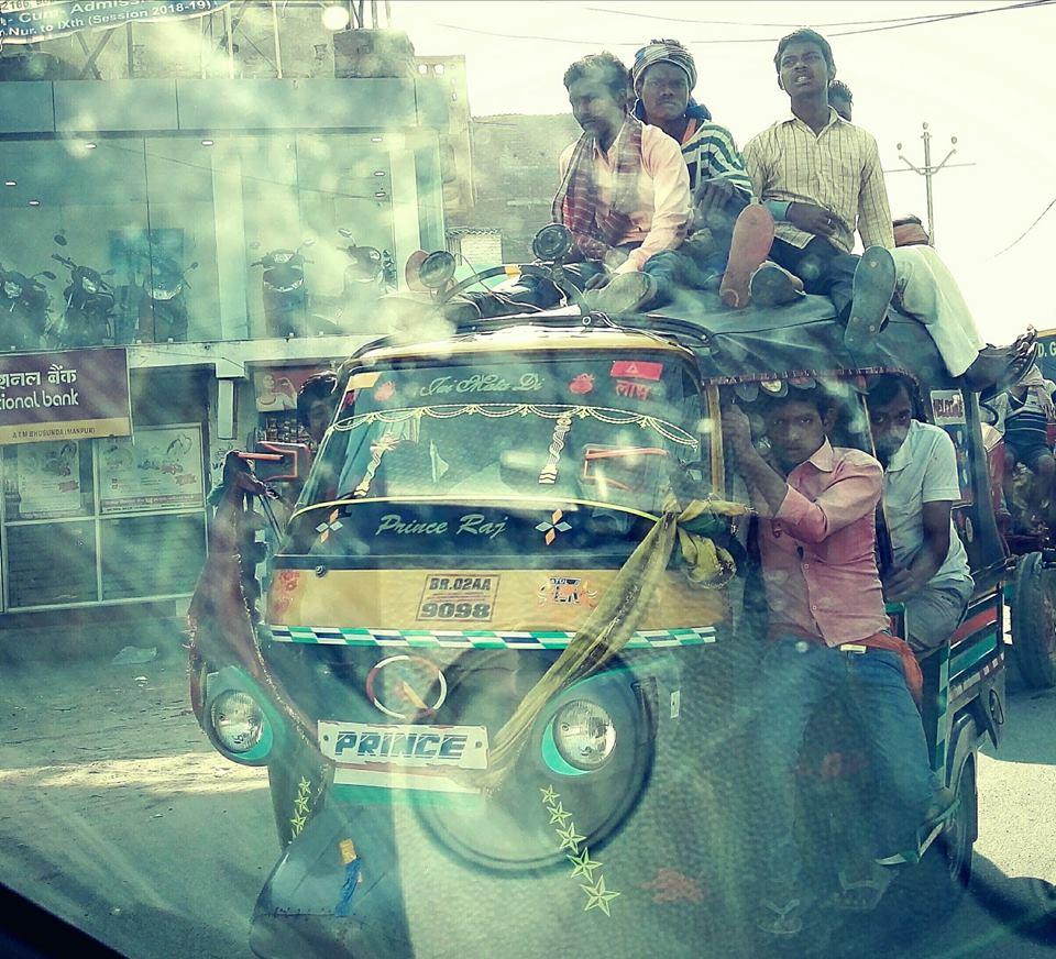 общественный транспорт Индии